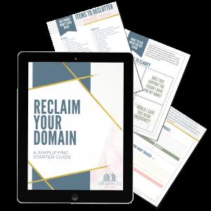 reclaim your domain freebie
